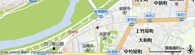 岐阜県岐阜市本町周辺の地図