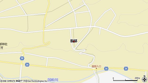 〒682-0635 鳥取県倉吉市服部の地図