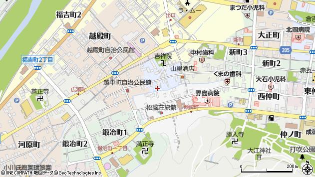 〒682-0874 鳥取県倉吉市西岩倉町の地図