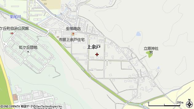 〒682-0032 鳥取県倉吉市上余戸の地図