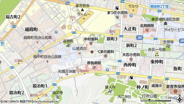 〒682-0873 鳥取県倉吉市東岩倉町の地図