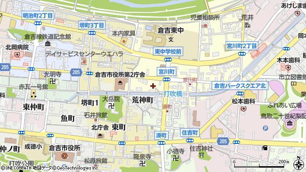 〒682-0881 鳥取県倉吉市宮川町の地図