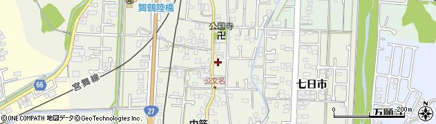 京都府舞鶴市公文名周辺の地図