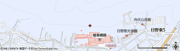 岐阜県岐阜市日野東周辺の地図