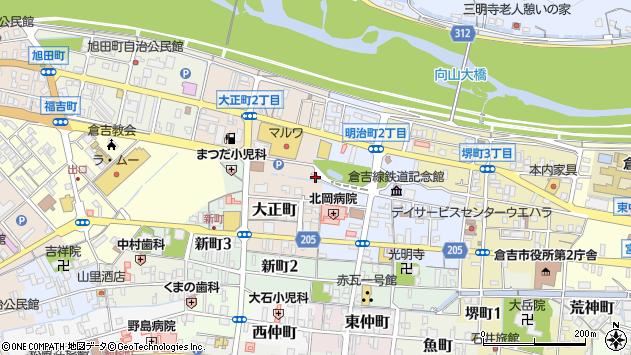 〒682-0886 鳥取県倉吉市大正町の地図