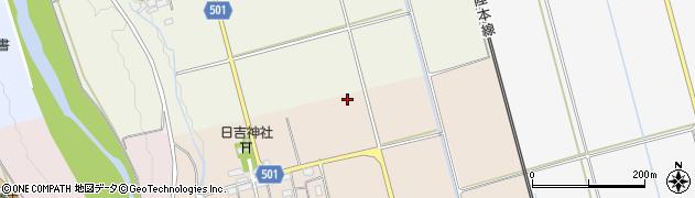 滋賀県長浜市湖北町小今周辺の地図