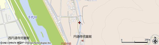 鳥取県鳥取市円通寺周辺の地図