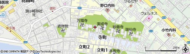 法蔵寺周辺の地図