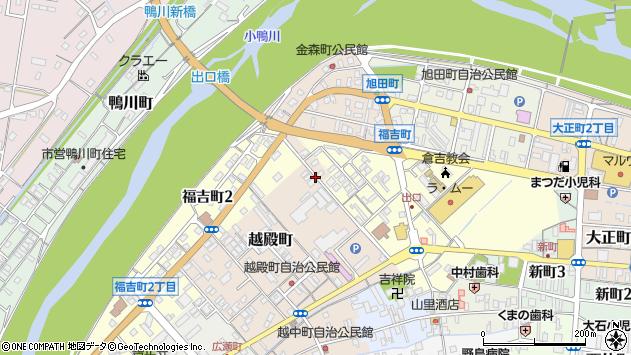 〒682-0867 鳥取県倉吉市越殿町の地図