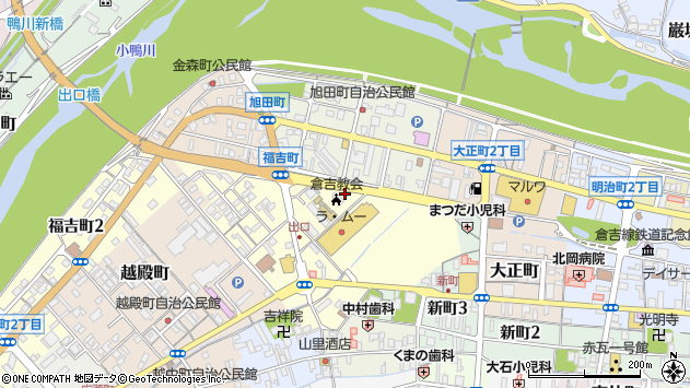 〒682-0872 鳥取県倉吉市福吉町の地図