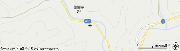 京都府綾部市老富町(矢黒畑)周辺の地図