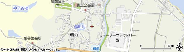 島根県松江市磯近周辺の地図