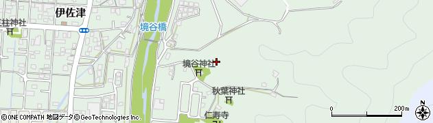 京都府舞鶴市境谷周辺の地図