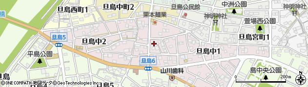 岐阜県岐阜市旦島中周辺の地図