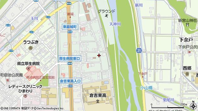 〒682-0802 鳥取県倉吉市東巌城町の地図