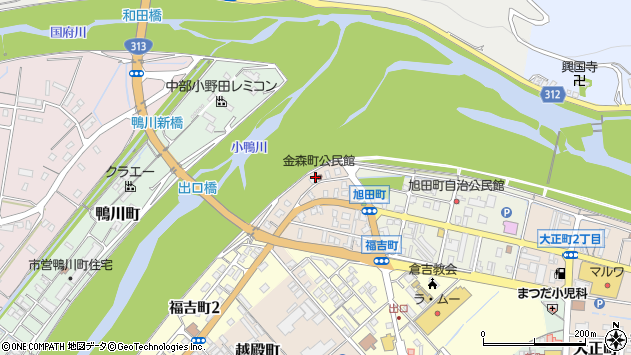 〒682-0875 鳥取県倉吉市金森町の地図