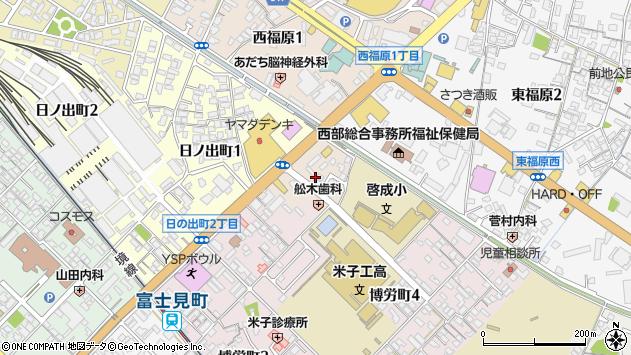 〒683-0805 鳥取県米子市西福原の地図