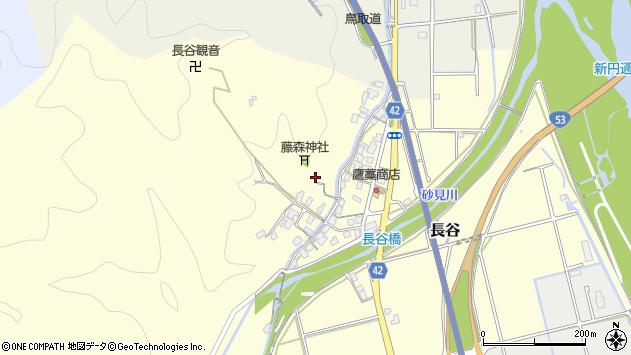 〒680-1153 鳥取県鳥取市長谷の地図