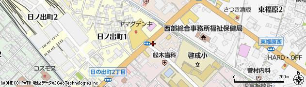 米子予備校周辺の地図