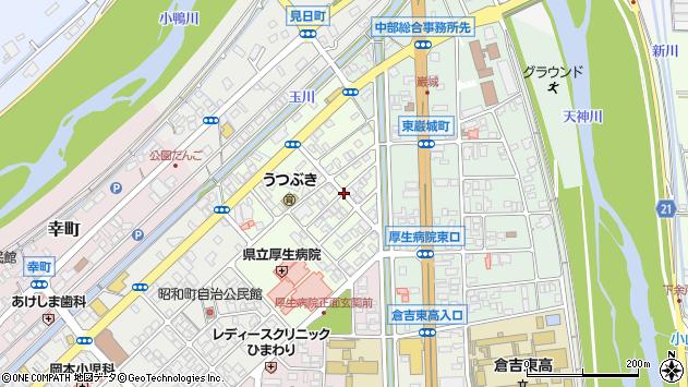 〒682-0804 鳥取県倉吉市東昭和町の地図