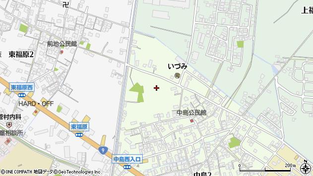 〒683-0005 鳥取県米子市中島の地図