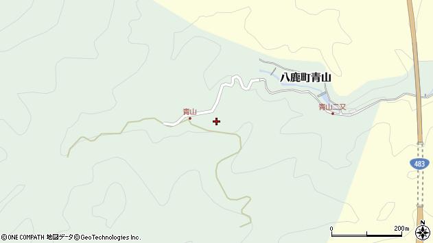 〒667-0001 兵庫県養父市八鹿町青山の地図
