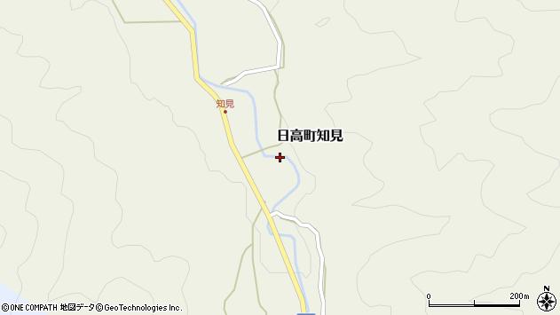 〒669-5352 兵庫県豊岡市日高町知見の地図