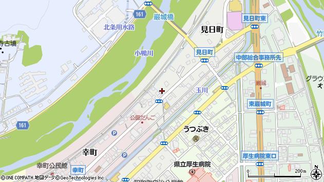 〒682-0803 鳥取県倉吉市見日町の地図