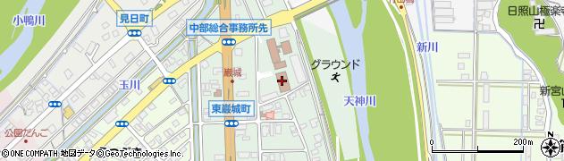 鳥取県中部総合事務所 農林局地域整備課総合整備担当周辺の地図