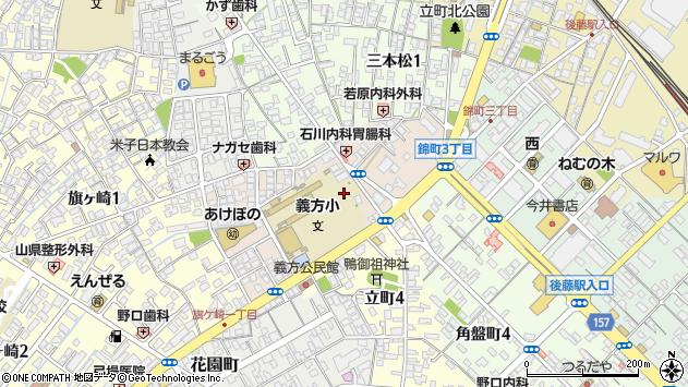 〒683-0844 鳥取県米子市義方町の地図