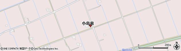 島根県出雲市灘分町(小島東)周辺の地図