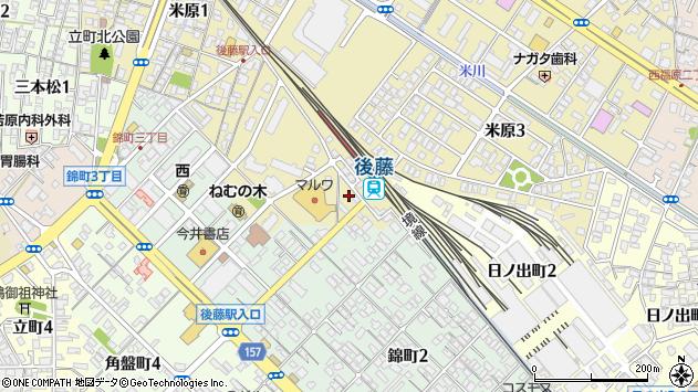 〒683-0804 鳥取県米子市米原の地図