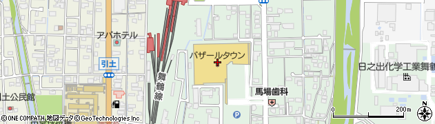 京都府舞鶴市伊佐津周辺の地図