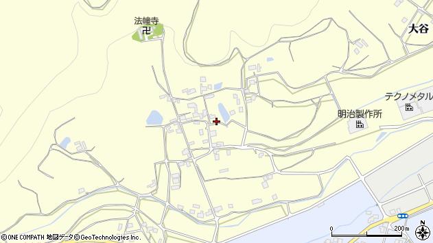 〒682-0941 鳥取県倉吉市大谷の地図