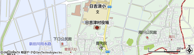 鳥取県西伯郡日吉津村周辺の地図