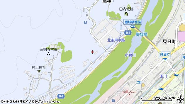〒682-0801 鳥取県倉吉市巌城の地図