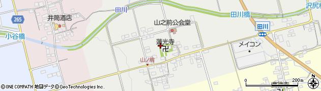 滋賀県長浜市山ノ前町周辺の地図