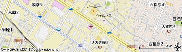 カラオケバンバン BanBan 米子米原店周辺の地図