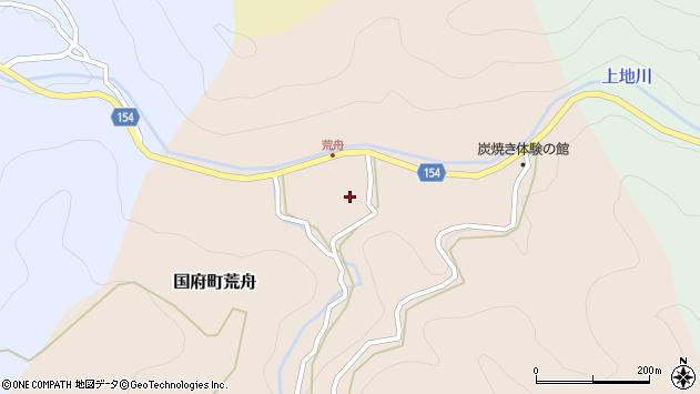 〒680-0216 鳥取県鳥取市国府町荒舟の地図
