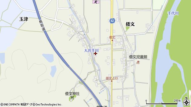 〒680-1151 鳥取県鳥取市倭文の地図