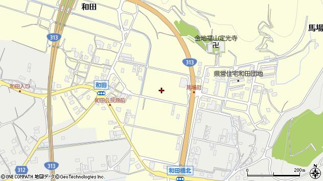 〒682-0912 鳥取県倉吉市和田の地図