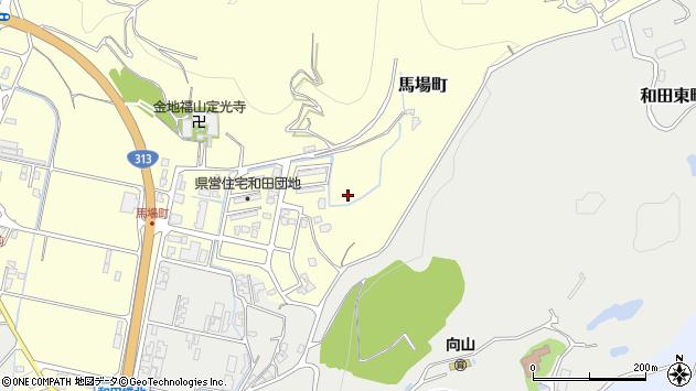 〒682-0914 鳥取県倉吉市馬場町の地図