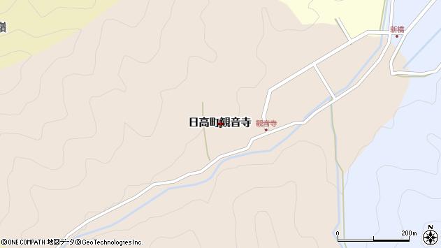 〒669-5354 兵庫県豊岡市日高町観音寺の地図