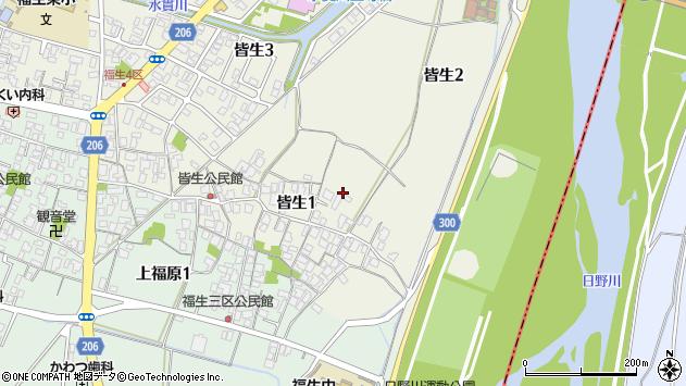 〒683-0003 鳥取県米子市皆生の地図