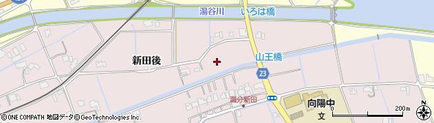 島根県出雲市灘分町(新田後)周辺の地図