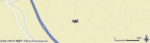 京都府舞鶴市大俣周辺の地図
