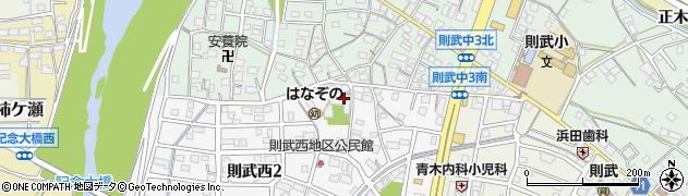 尊照寺周辺の地図