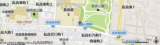 岐阜県岐阜市黒岩町周辺の地図