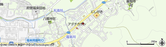京都府舞鶴市福来周辺の地図