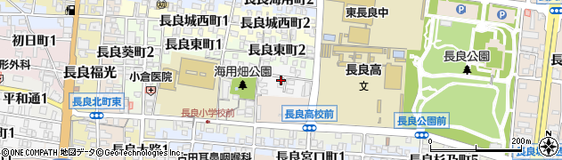 岐阜県岐阜市長良校文町周辺の地図